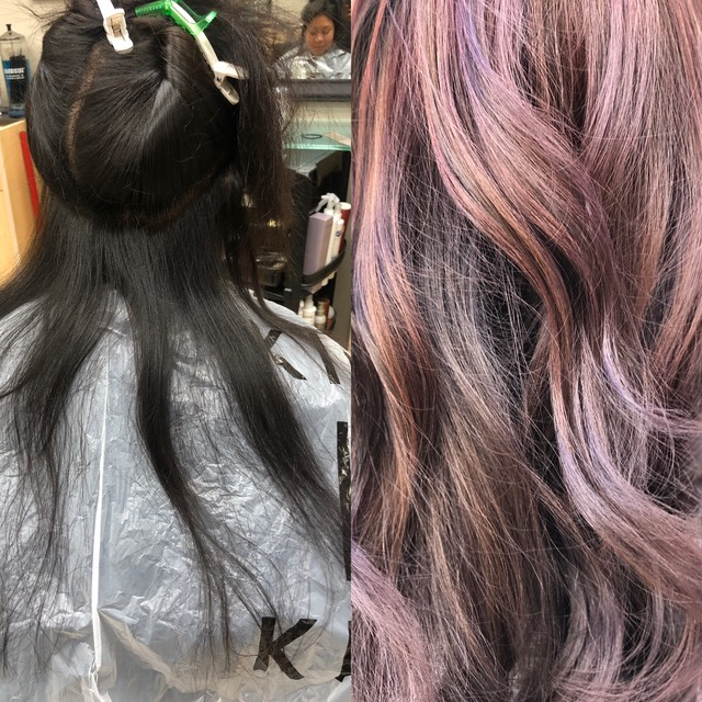 Brunette color for fall 2018