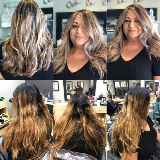 hair color correction hair colorist Martin