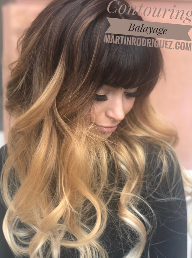 Summer Balayage hair color for brunette hair 2018
