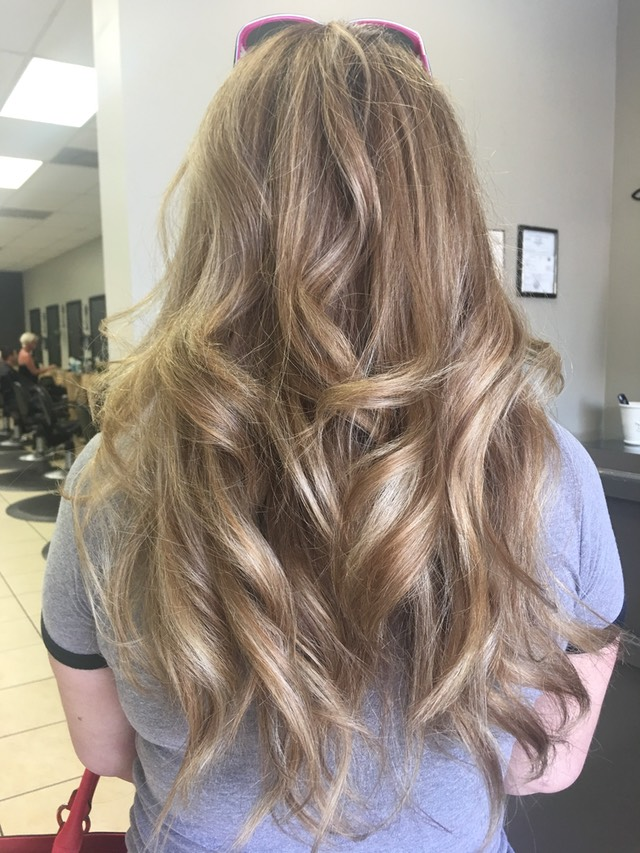 BLENDED SOMBRE HAIR COLOR