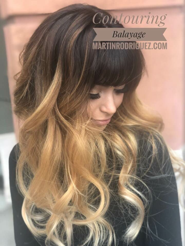 Balayage for brunnets