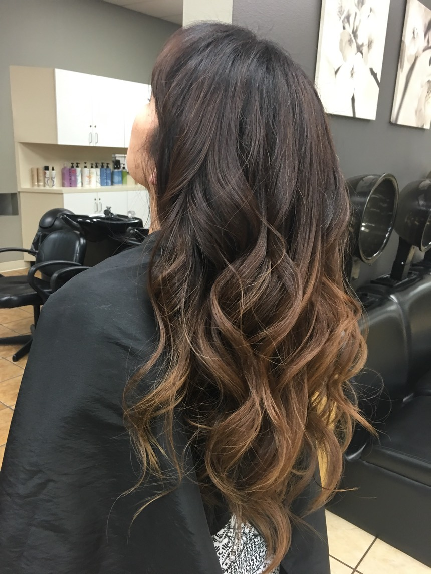 COVERING GRAY HAIR TO A NATURAL COLOR TONE  Adding a natural tone to gray hair is a great start , Multiple shades of natural tones will look more natural.  A great way is balayage hair painting with multiple tones.