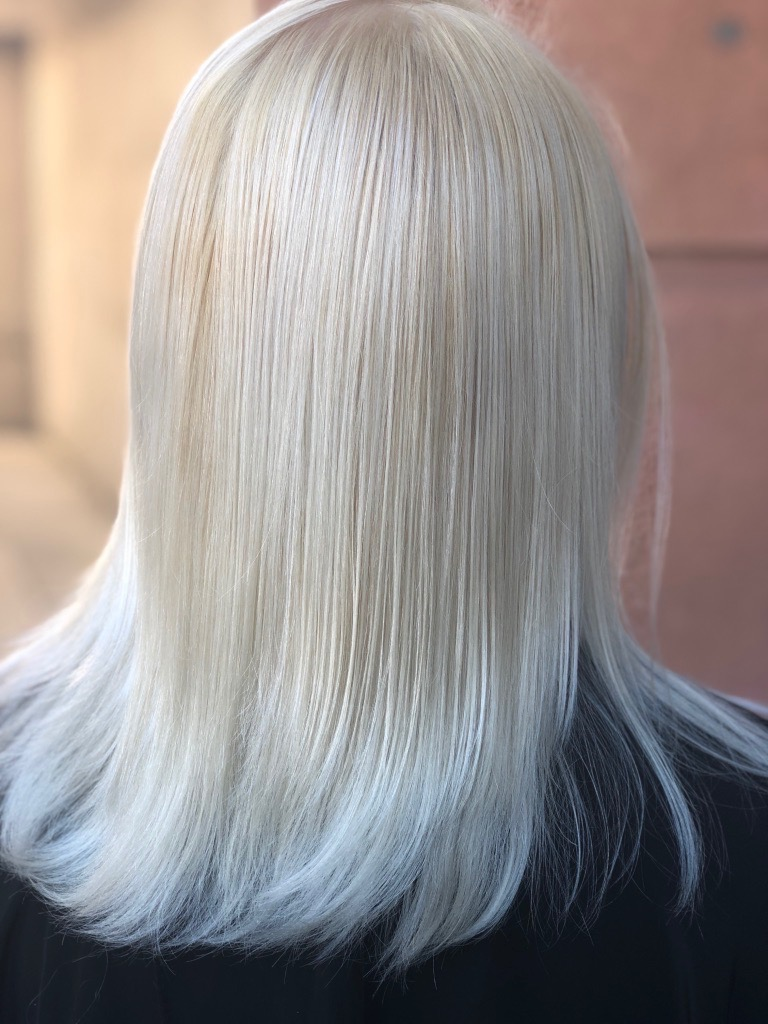 Blonde color