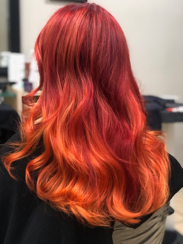 Red  hair  color   2019