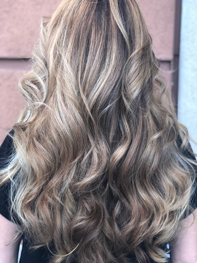 Shadow root Balayage 2018