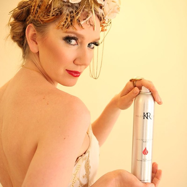 la rose hair spray Kalea hair care