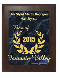 Best Hair stylist Fountain Valley ca 2015