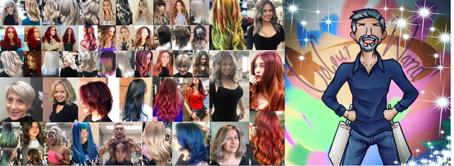 hair  colorist Martin rodriguez