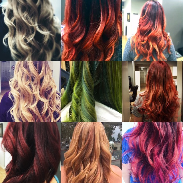 Hair color that compliments your life style.
