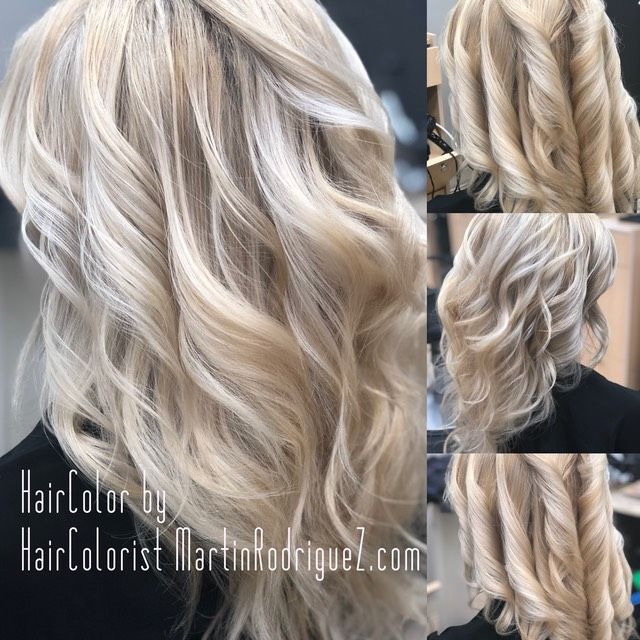 Balayage color by Hair colorist Martinrodriguez