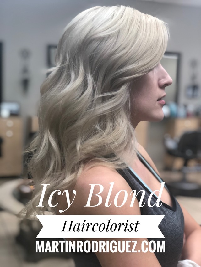 Icy cream gray blond 2018