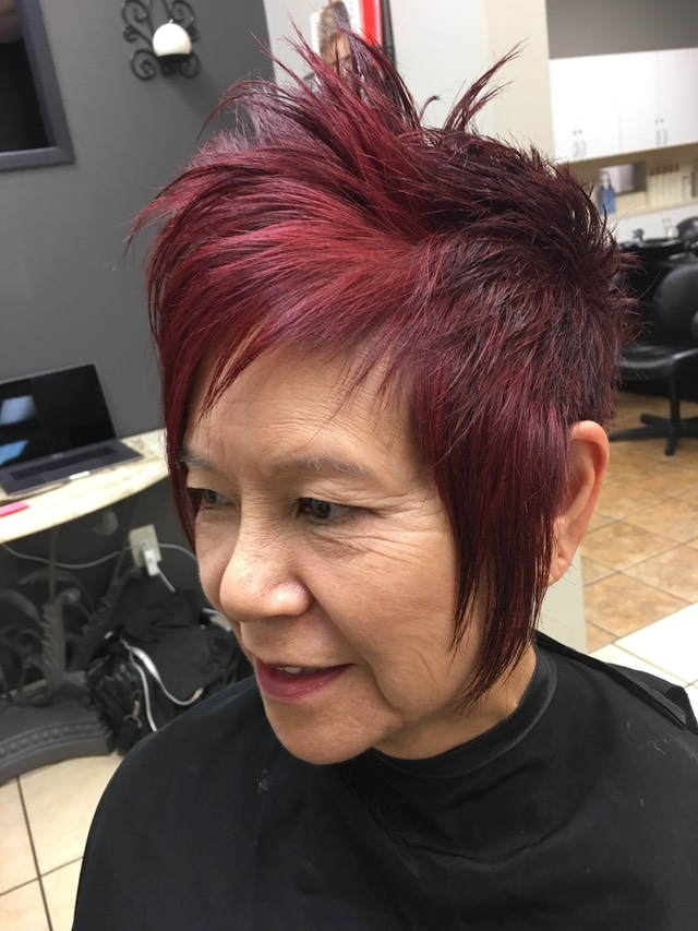 The playful hair cut for active  women Fun and sassy