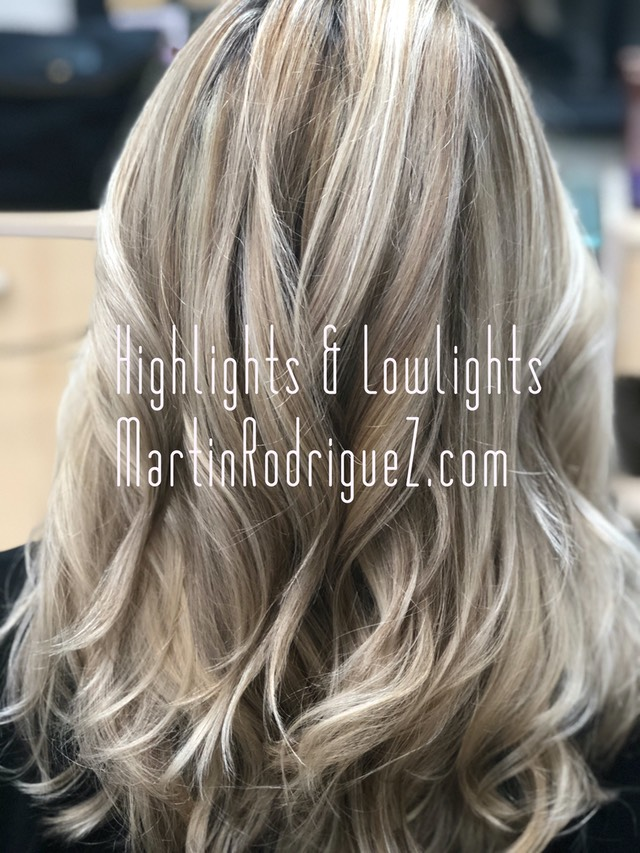 highlights with low lights