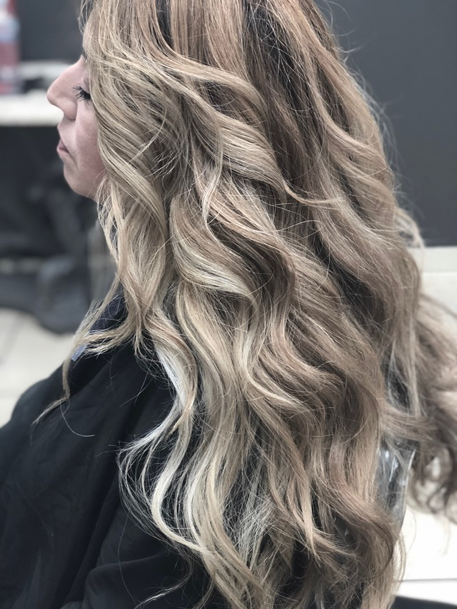 Balayage for brunette hair 2018